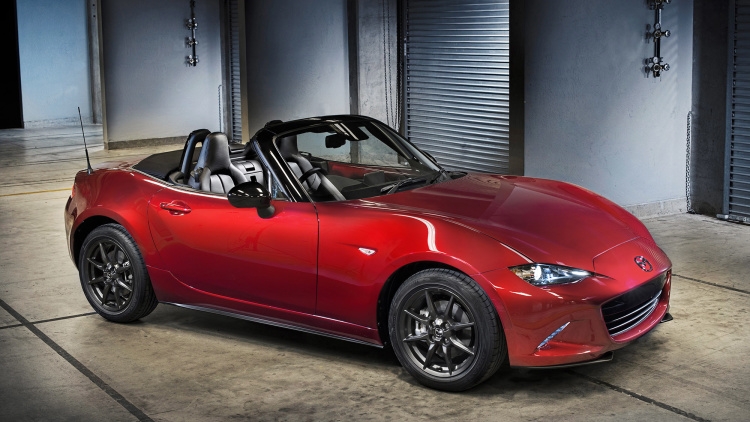 mazda introduces its new 2016 mx 5 miata convertible roadster. Black Bedroom Furniture Sets. Home Design Ideas