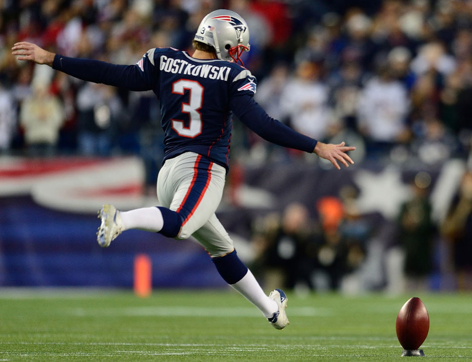 most accurate kicker in nfl spread on patriots game