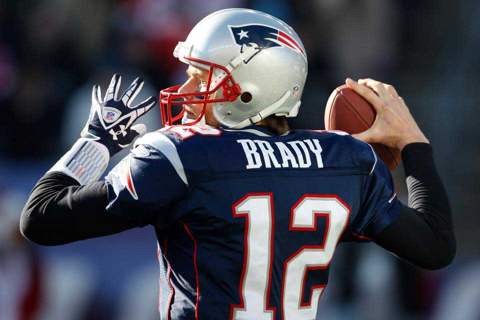 Tom Brady did in fact play in Thursday's preseason game against the Green Bay Packers. Brady finished 1-of-4 for 10 yards, with no touchdowns. Photo: Hercampus