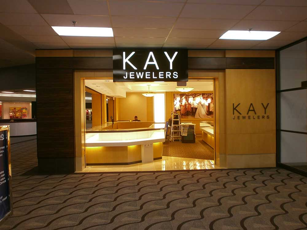 Kay Jewelers in the Kirkwood Mall in Bismarck, ND.