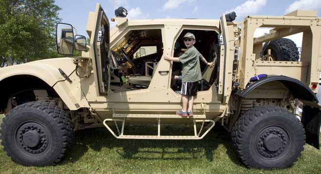 Oshkosh Corp won a $30bn contract to replace US Army's Humvee