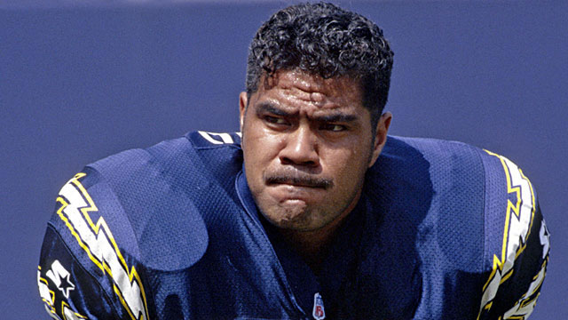 The 12-time Pro Bowler and six-time All Pro spent 20 years as one of the league's most intense players with San Diego, Miami and New England.
