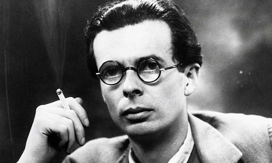Aldous Huxley had a lot of faith in the value of psychedelic  drugs. On the day he died from cancer, in 1963, Huxley asked his second wife to inject him LSD. Credit: theplaidzebra.com