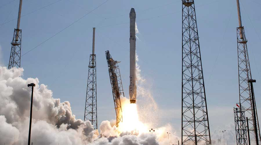 The unmanned SpaceX Falcon 9 rocket. Photo: Scott Audette / Reuters