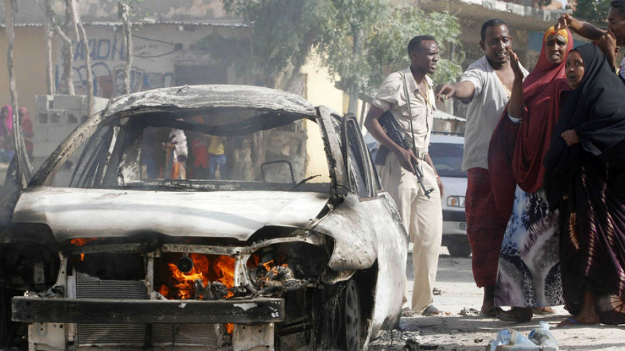 Abdifatah Omar Halane, a United Nations spokesman for the Banadir region of Somalia, stated the death toll was at least 13 so far. Image Credit: Al Arabiya