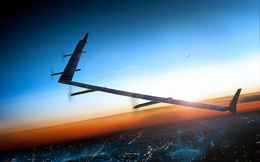 Aquila is part of Facebook's commitment to internet.org, which aims to build more aircraft, satellites, and devices that facilitate internet access for worldwide users. Image Credit: Telegraph