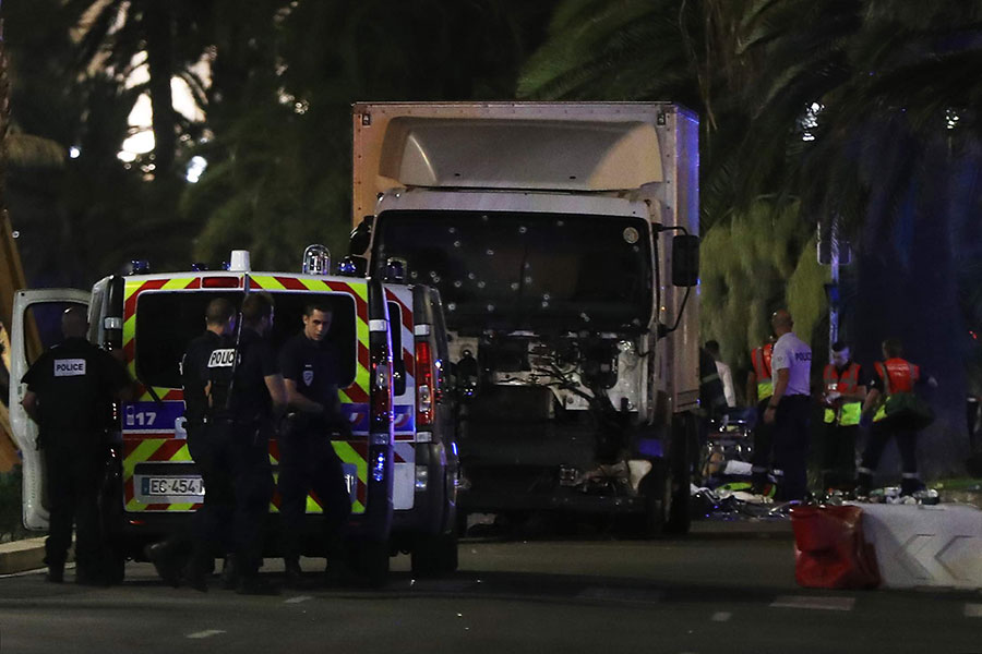 France Charges Five Suspects over Nice Truck Attack