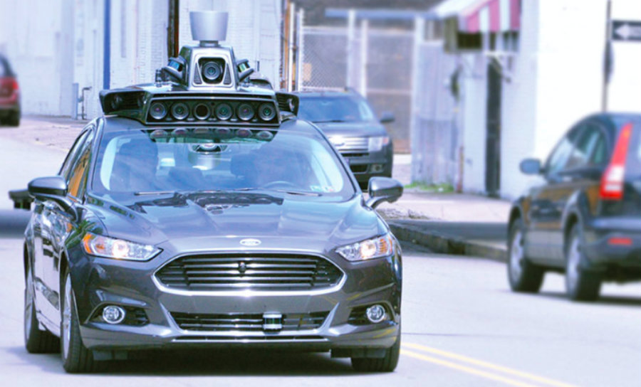 The leading ride-hailing service Uber announced the company will start deploying its self-driving cars to offer cab rides to customers in Pittsburgh. Image Credit: TechCrunch