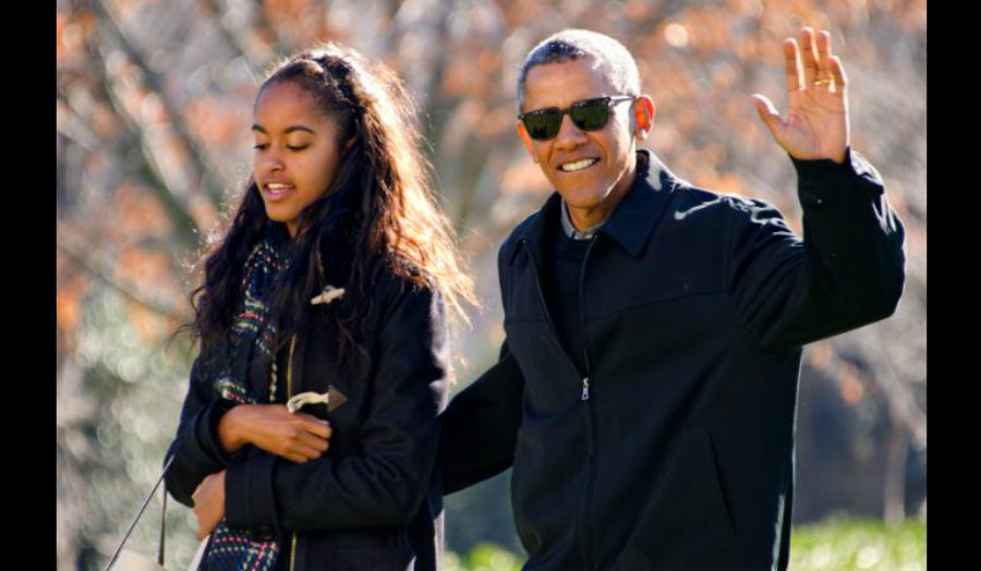 President Obama's oldest daughter Malia was caught on video smoking what appears to be a marijuana cigarette. The video has been a trending topic in the United States since its release