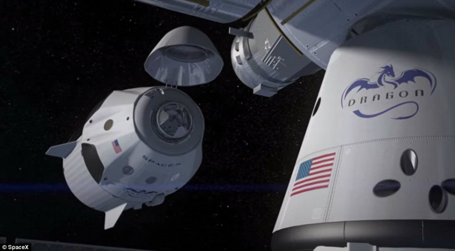 Crew Dragon will ultimately be used to take astronauts to the International Space Station. Image Credit: Universe Today