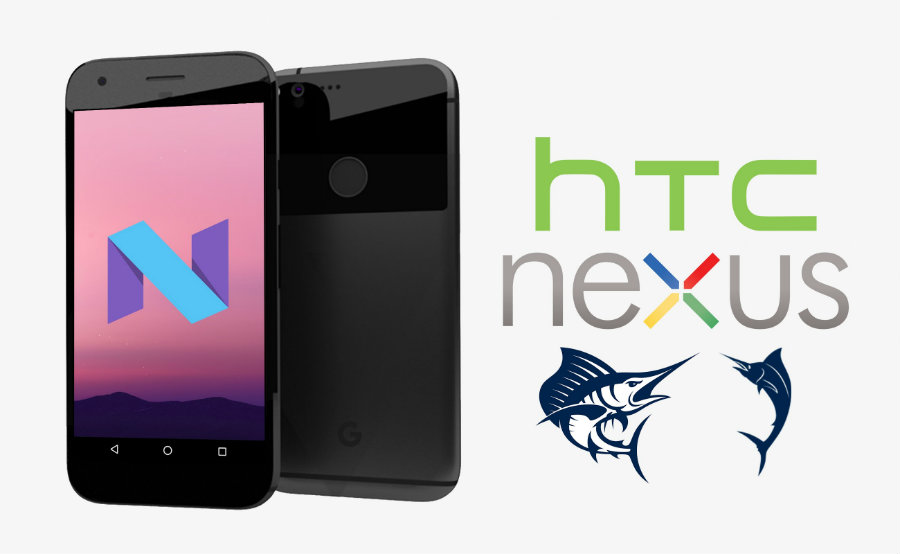 Google Nexus 2016 Render Teases A Cleaner Design For Both HTC-Made 'Sailfish' And 'Marlin.' Image Credit: Android Headlines