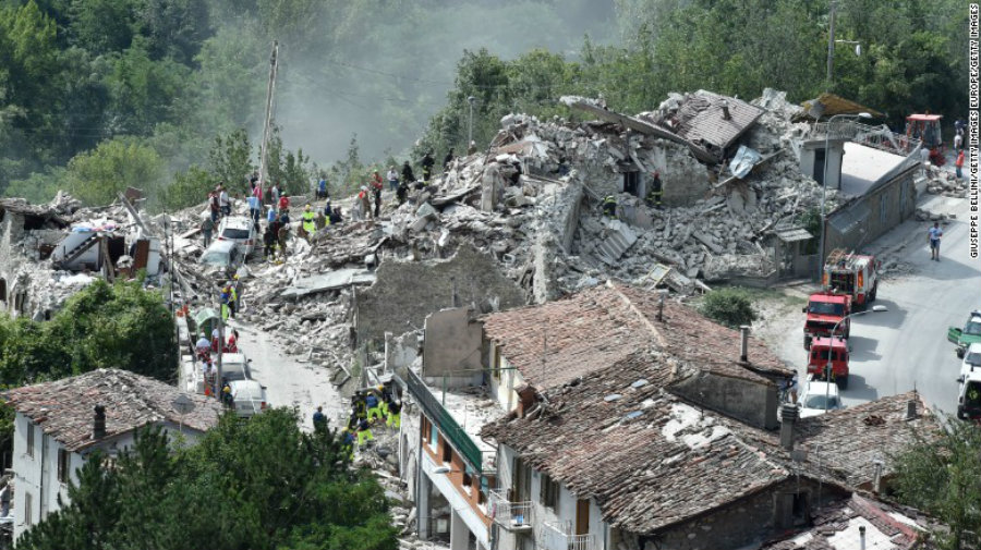 Italy is one of Europe's most seismically active countries as it sits on two fault lines. In 2012, almost 30 people were killed in earthquakes in the north three years after another quake in the nearby city of L'Aquila left more than 300 fatal victims. Image Credit: The Verge