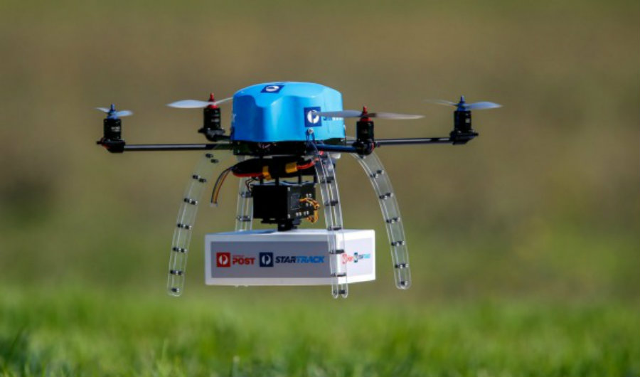 With the drone business skyrocketing, it wouldn't come as a surprise if other fast food chains start introducing drone delivery services. Image Credit: AFR