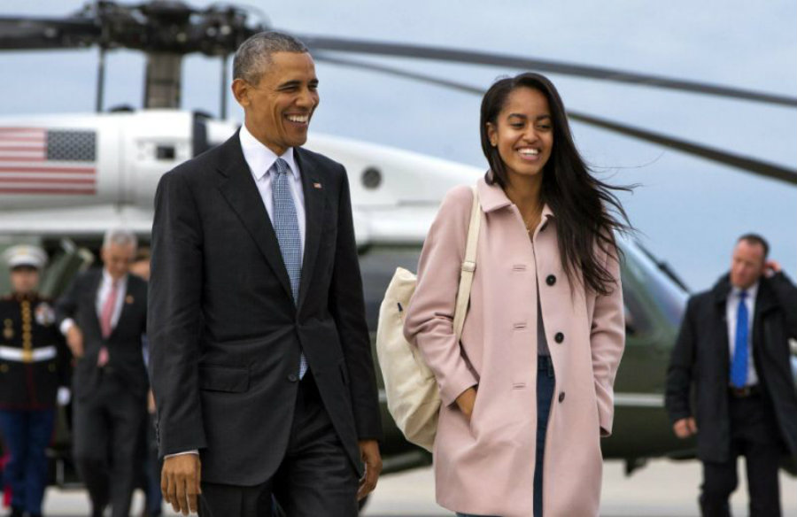 Whether Malia smoked weed or not at the Lollapalooza, an official announcement from the President Barack Obama is expected to clear things. Image Credit: Yahoo