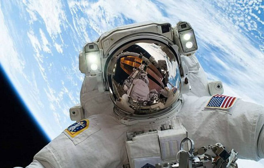 The astronauts performed a task that will take NASA one step closer to its primary goals, installing a docking port not only ends the need to pay $70 million for every astronaut that needs to get to the ISS, but it also means commercial flights are just around the corner. Image Credit: NASA