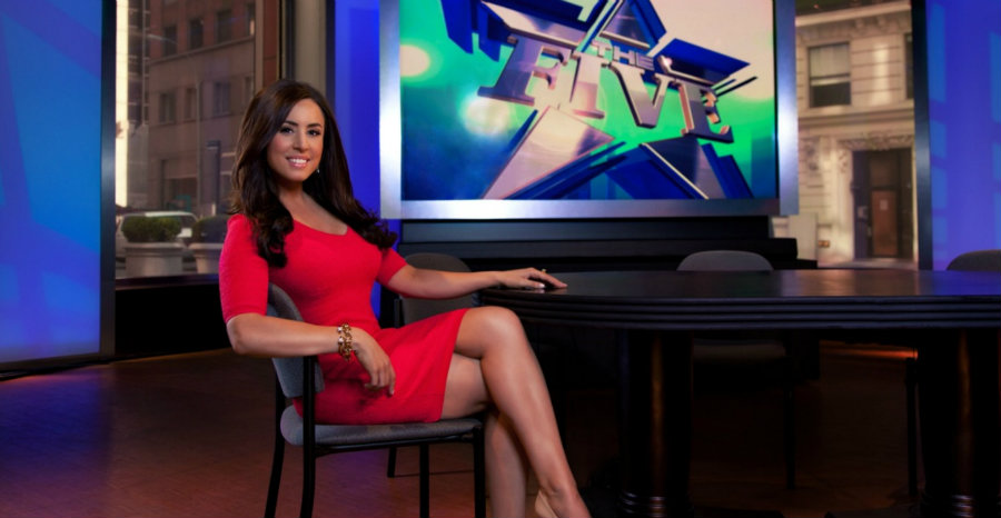 """Cable News host Andrea Tantaros claims in the document that the company promotes """"intimidation, indecency and misogyny"""" behind the scenes. Photo credit: Buzz Po"""
