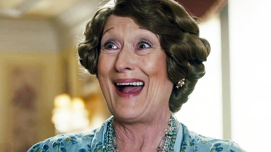 """The new movie """"Florence Foster Jenkins"""" from director Stephen Frears, is starred by Meryl Streep who personifies Florence, a woman that in the forties tried to become an opera diva, but had a terrible voice. Photo credit: Indie & Foreign Films"""