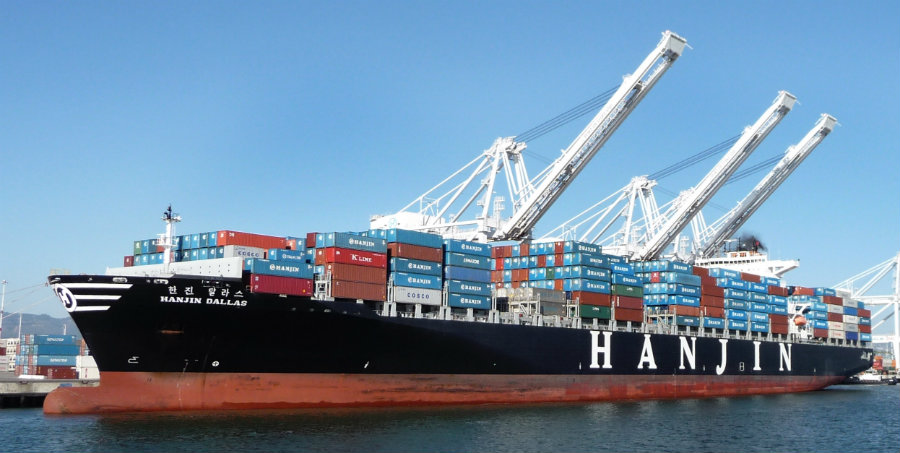 After a meeting, Tuesday morning, Hanjin Shipping, South Korea's largest container line, was abandoned by its creditors. Photo credit: Wikipedia
