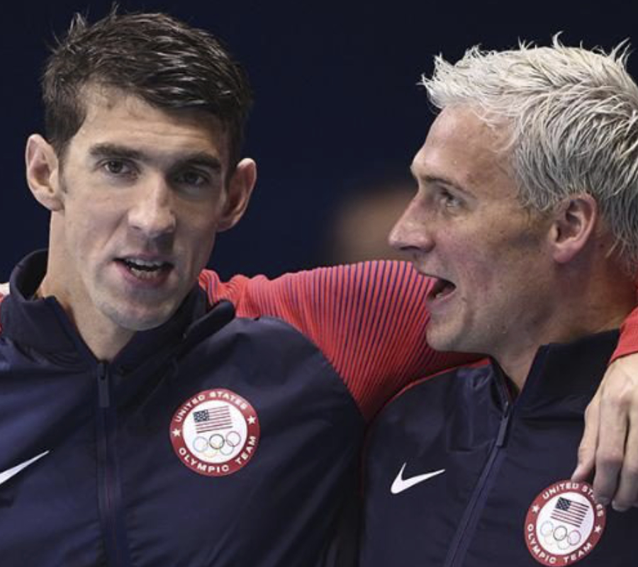 Phelps, Lochte face off in individual medley finals