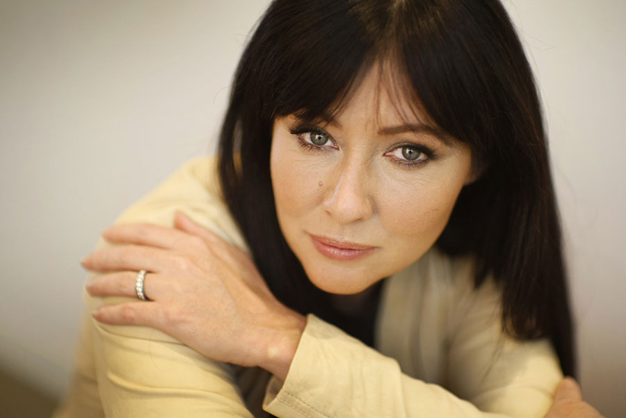 Shannen Doherty's breast cancer has spread. Image Credit: Al Seib / Los Angeles Times)