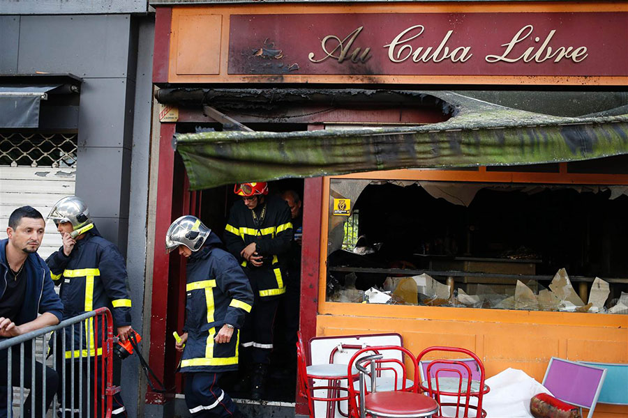 France bar fire leaves 13 dead, 6 injured
