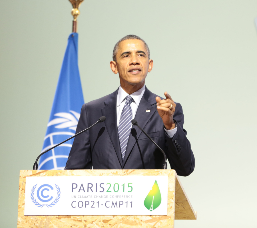Barack Obama, Paris Agreement