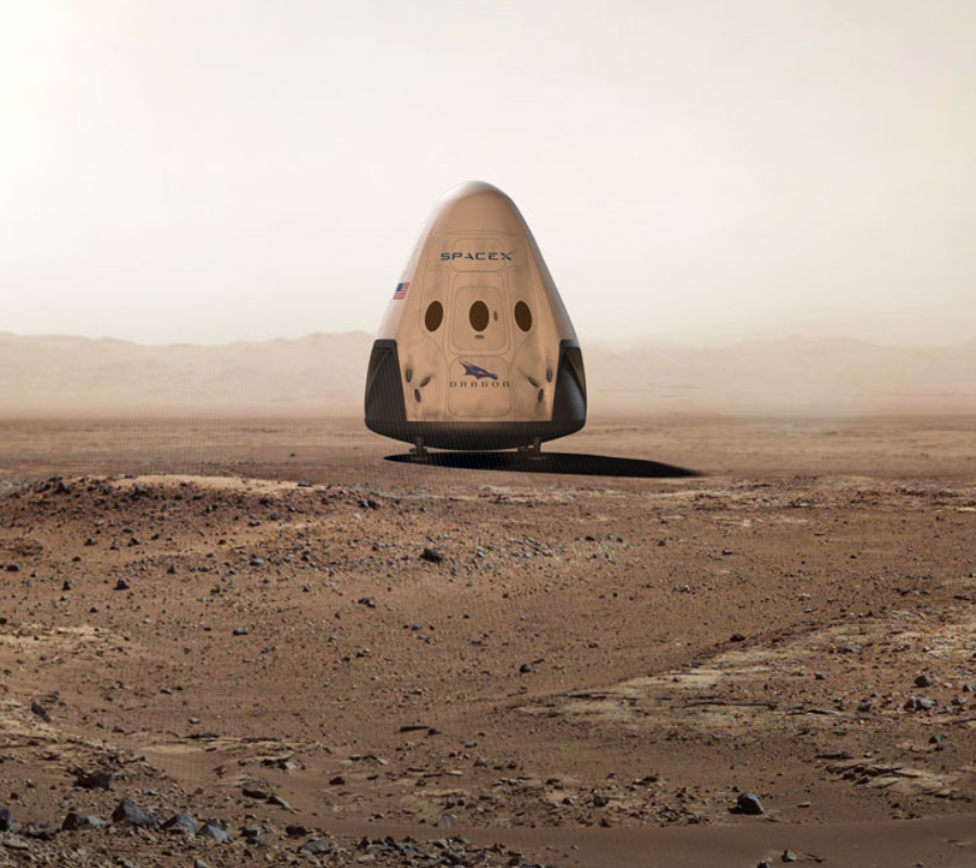 SpaceX Mars Dragon