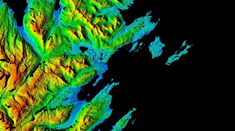 The newly released maps will help identify the rapid changes that are taking place in the topography of Alaska. Photo credit: NewsClip