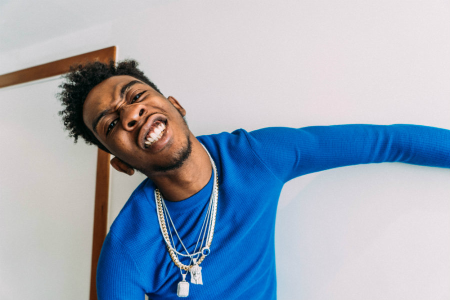 """Sidney Royel Selby III, better known as Desiigner, is a nineteen-year-old rapper that recently risen to fame for his single titled """"Panda."""" Photo credit: Fact Magazine"""