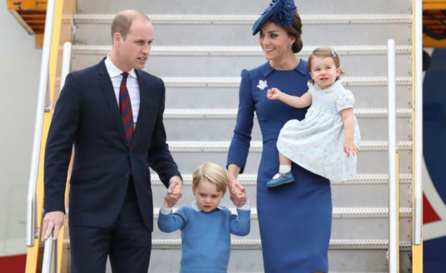 The royal family arrived Saturday to Victoria, British Columbia. They have an eight-day trip ahead including visits to several cities in Canada. Photo credit: Getty Images / BBC