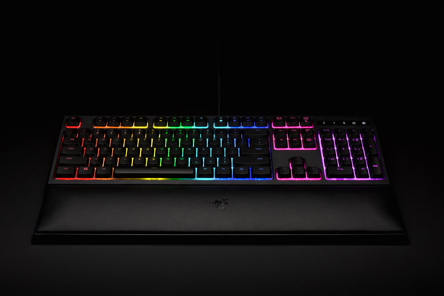 "Razer's Ornata Chroma is an attempt at making the ""best keyboard for gamers,"" according to Razer CEO Min-Liang Tan.  Photo credit: Razer Zone"