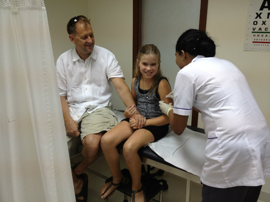 This year, the CDC is advising everyone who is six months and older to get a flu vaccination before the season starts. Photo credit: Expat Echo Dubai