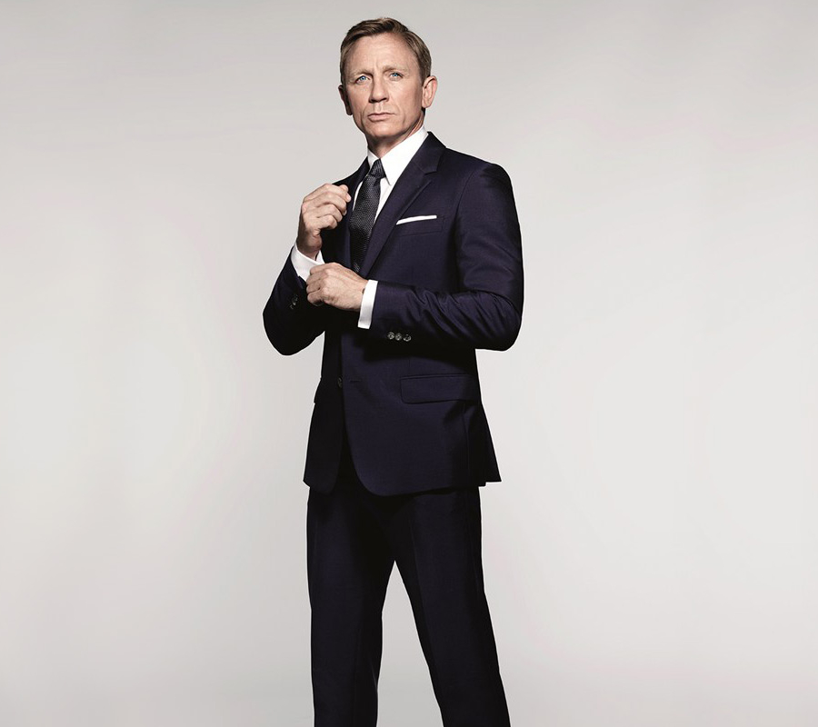 James Bond. Daniel Craig