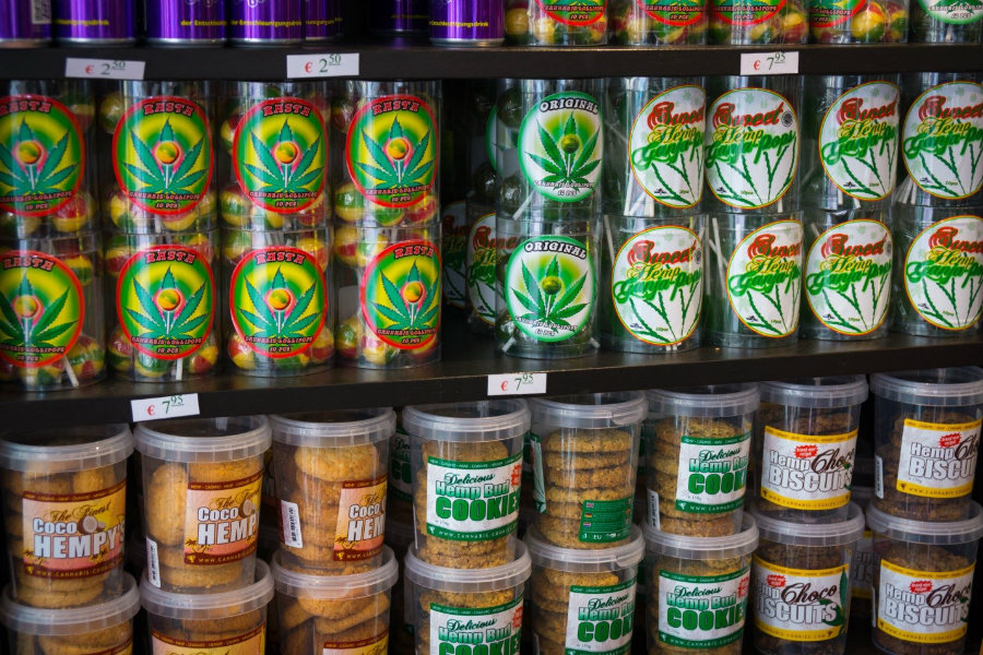Colorado pot edible manufacturers are being required to stamp their products with a diamond-shaped mark containing the letters THC to avoid  pot edibles go unnoticed in schools, workplaces, or any other location. Photo credit: Diego Criminal Defense