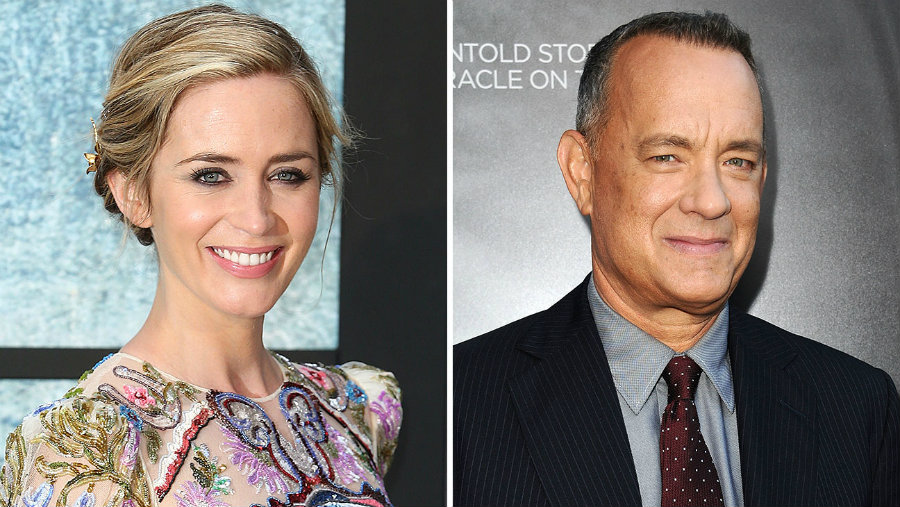 Emily Blunt and Tom Hanks will star on Saturday Night Live as hosts. Photo credit: My Fads