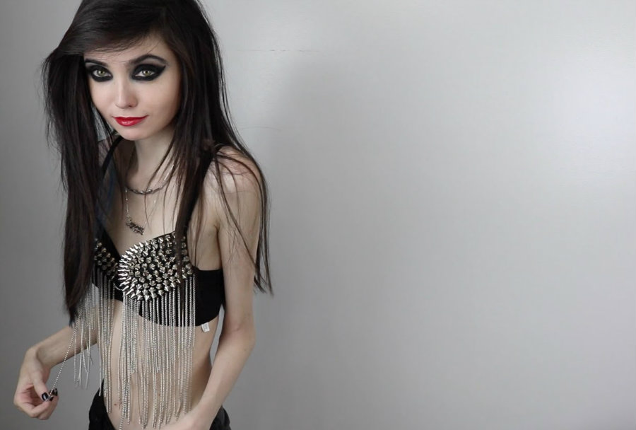 The 22-year-old girl, who has nearly a million subscribers on YouTube, is being attacked for allegedly promoting anorexia. Photo credit: Eugenia Cooney Youtube Channel