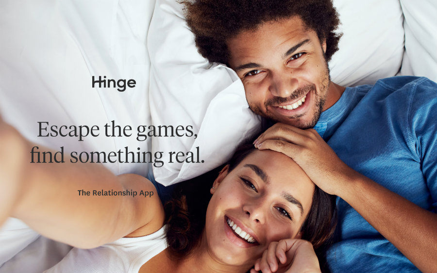"Hinge worked for more than a year to released their ""more serious"" version of a relationship app. Photo credit: Engadget"