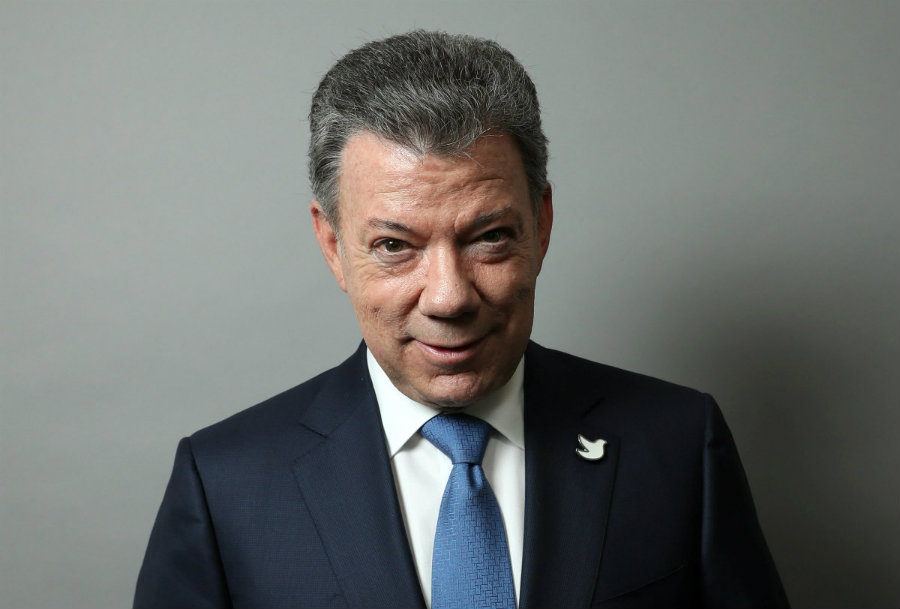 The Nobel organization hopes that the award will encourage Santos and the country to continue peace negotiations. Photo credit: Alto Nivel