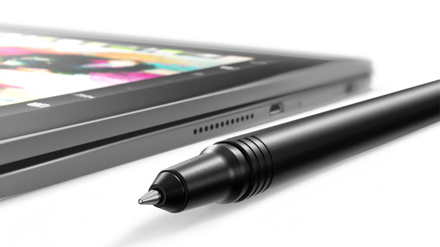"The Wacom surface requires buyers to use Lenovo's ""Real Pen"" stylus. Photo credit: Pcadvisor.co.uk"