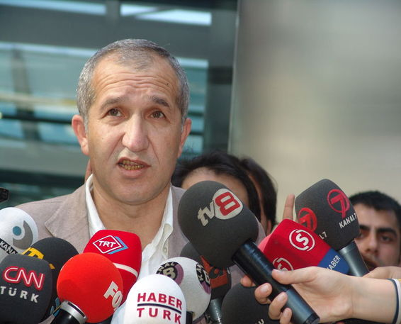 Akin Atalay, chairman of the opposition newspaper Cumhuriyet