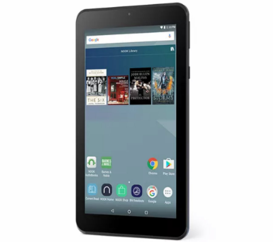 "On Black Friday, the newest Barnes & Noble product will come out: The 4 Nook 7."" Photo credit: Barnes & Noble / The Verge"