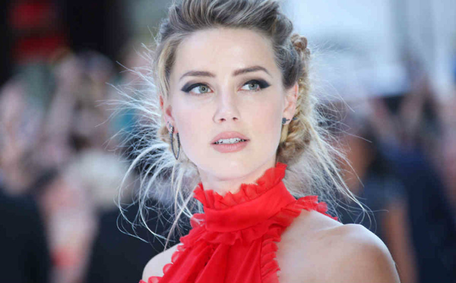 Girlgaze shared Amber Heard's video on domestic violence to honor the International Day for the Elimination of Violence Towards Women. Photo credit: Sky News