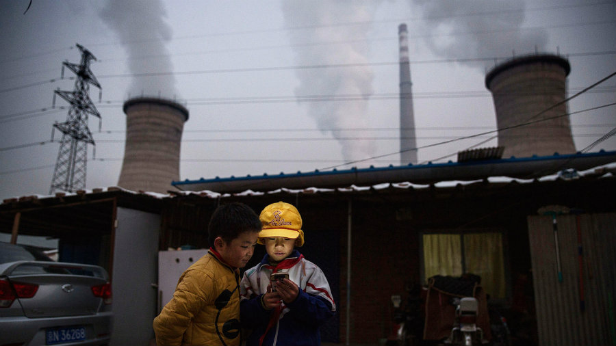 China is one of the countries that generates more greenhouse gas emissions. Photo credit: Kevin Frayer / Getty Images / NPR