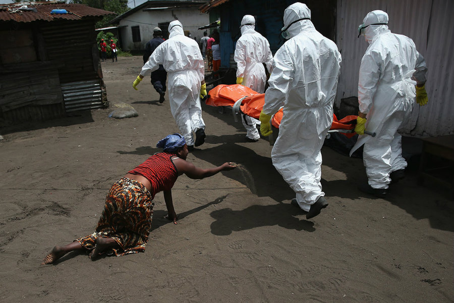 Many Ebola transmission events may have avoided detection during the outbreak. Photo credit: John Moore / Getty Images / IB Times