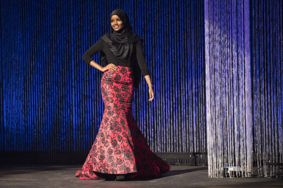 Halima Aden announced that she was able to encourage women to wear what they wanted and felt was right with their beliefs. Photo credit: Leila Navidi / Star Tribune via AP / Statesman