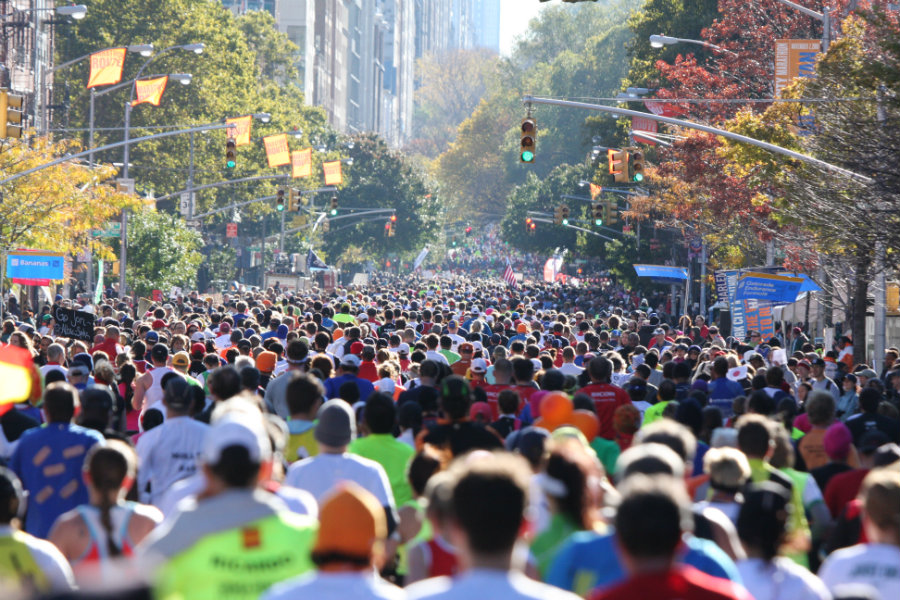 New York CIty Marathon 2016. Photo credit: Sports Travel International