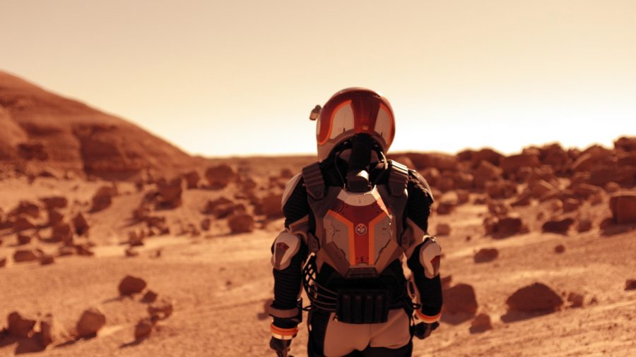 """Nat Geo released yesterday its new miniseries named """"Mars."""" Photo credit: National Geographic Channel"""