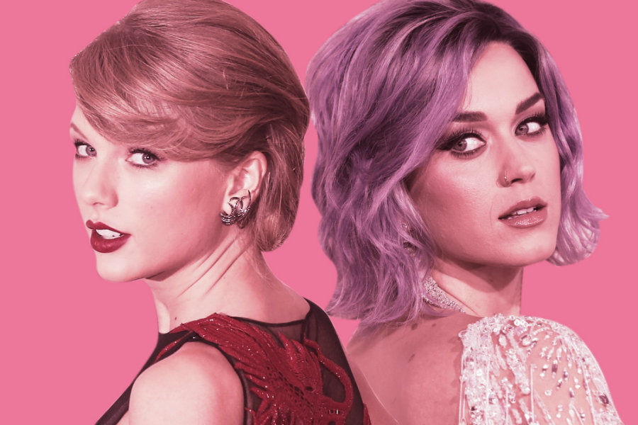 It is quite known that Katy Perry and Taylor Swift are not friends. Photo credit: Emil Lendof / The Daily Beast