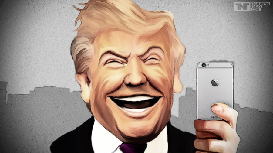 Trump wants Apple to make iPhones in the US. Photo credit: Tech News Today