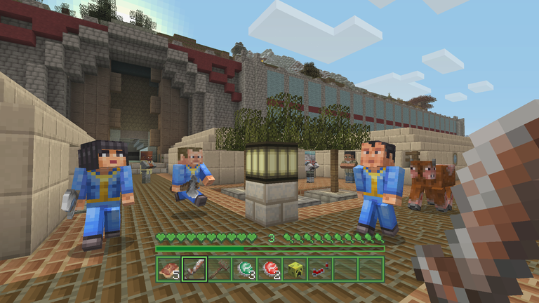 Minecraft Gets A Fallout Makeover